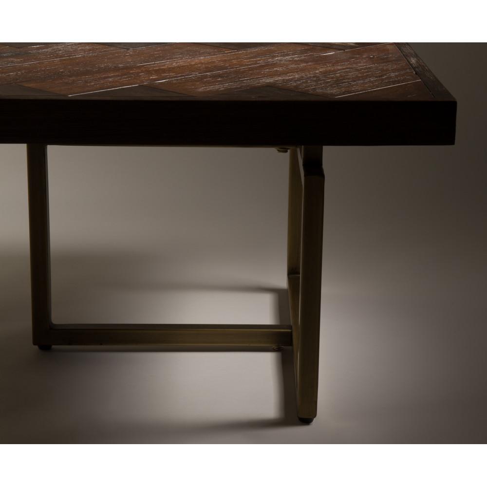 Table basse carree acacia - Table basse design carree ...
