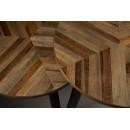 Lot de 2 tables basse bois recyclé Mundu