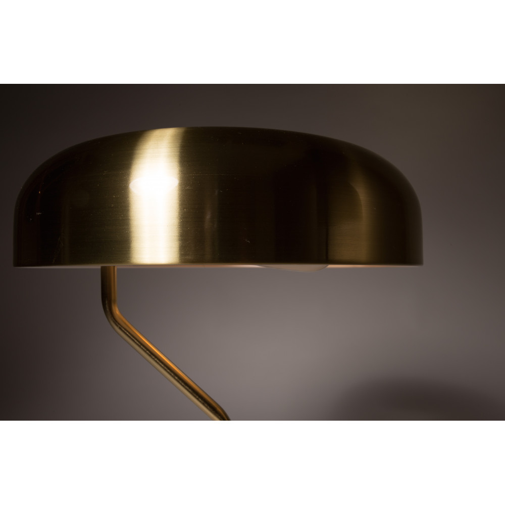 Lampe A Poser Design Metal Finitions Dorees Eclipse