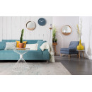 Fauteuil lounge tissu Lazy M