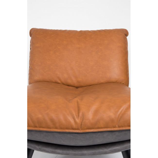 Fauteuil lounge simili cuir Lazy Sack