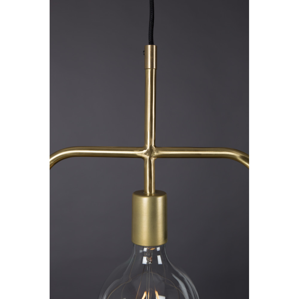 suspension design industriel m tal finitions dor es cubo dutchbone. Black Bedroom Furniture Sets. Home Design Ideas