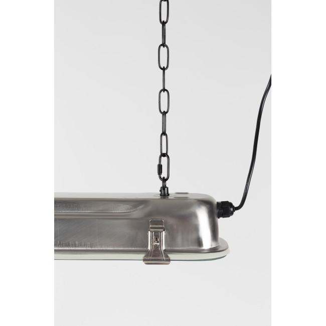Suspension industriel métal XL G.T.A. laqué noir