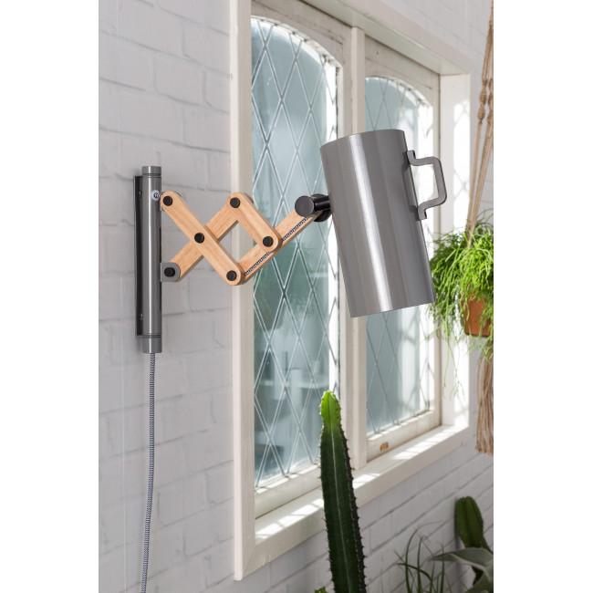 Applique articulée bois métal Flex