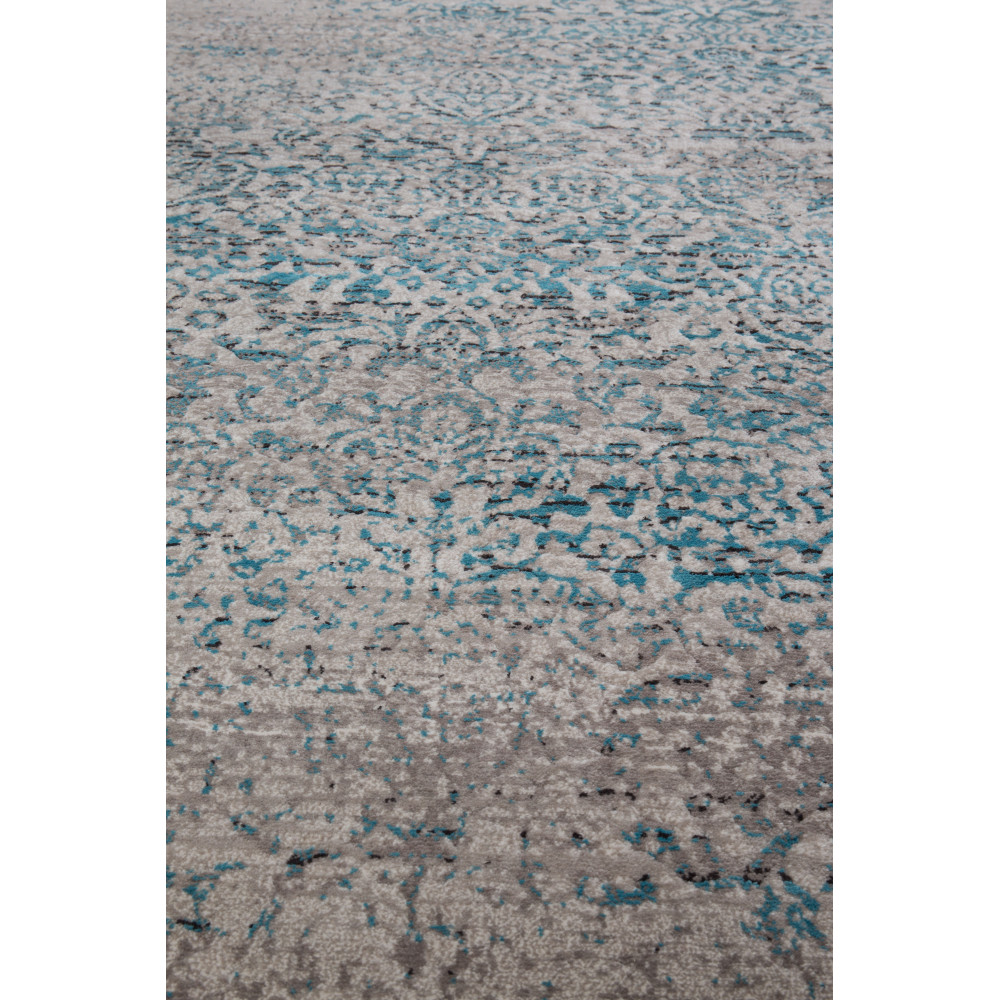 tapis vintage bleu magic - Tapis Vintage