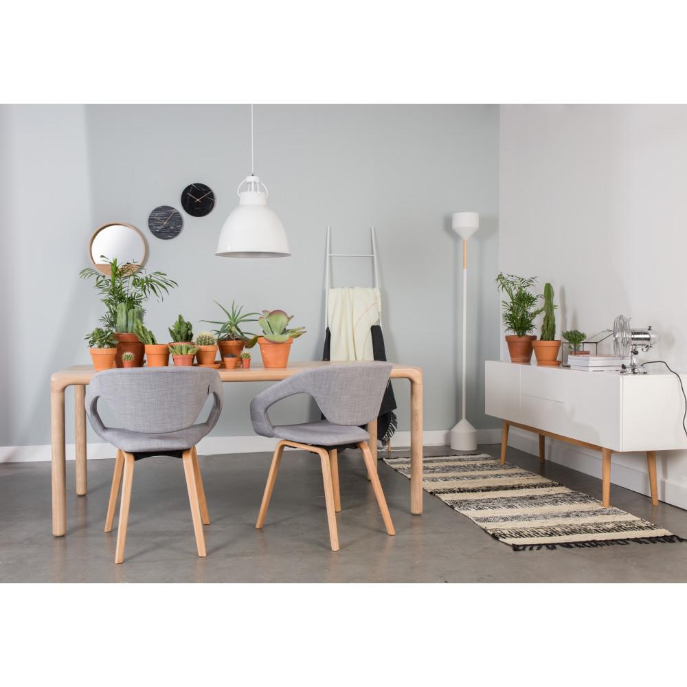 table manger bois 220x90 storm zuiver. Black Bedroom Furniture Sets. Home Design Ideas