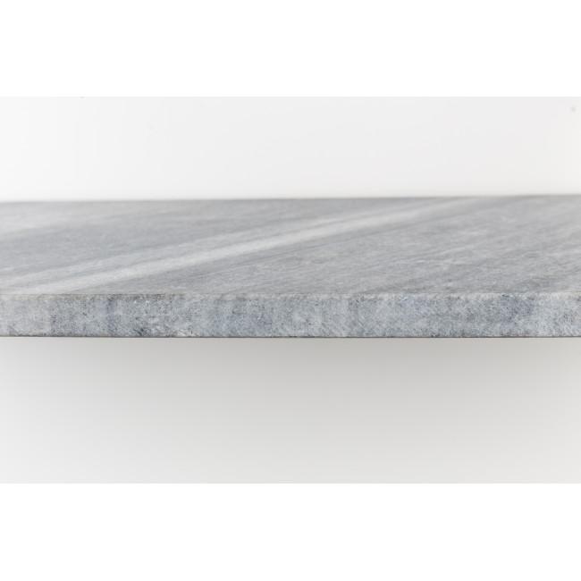 Étagère murale marbre et métal Fad