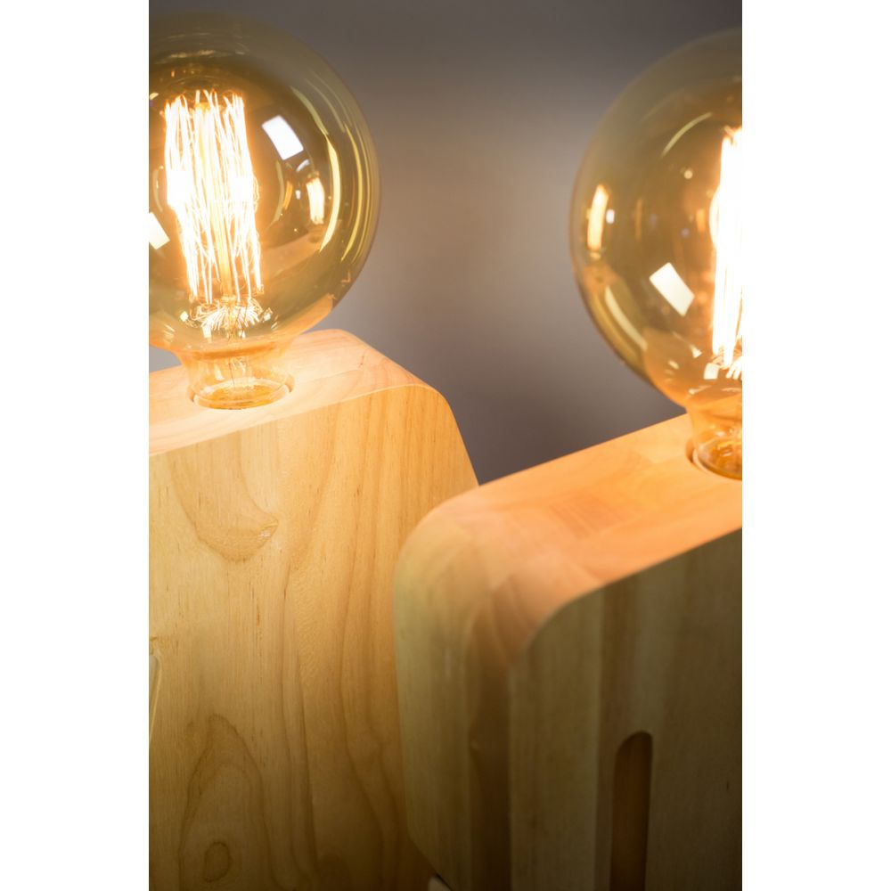 lampe poser en bois adam by drawer. Black Bedroom Furniture Sets. Home Design Ideas