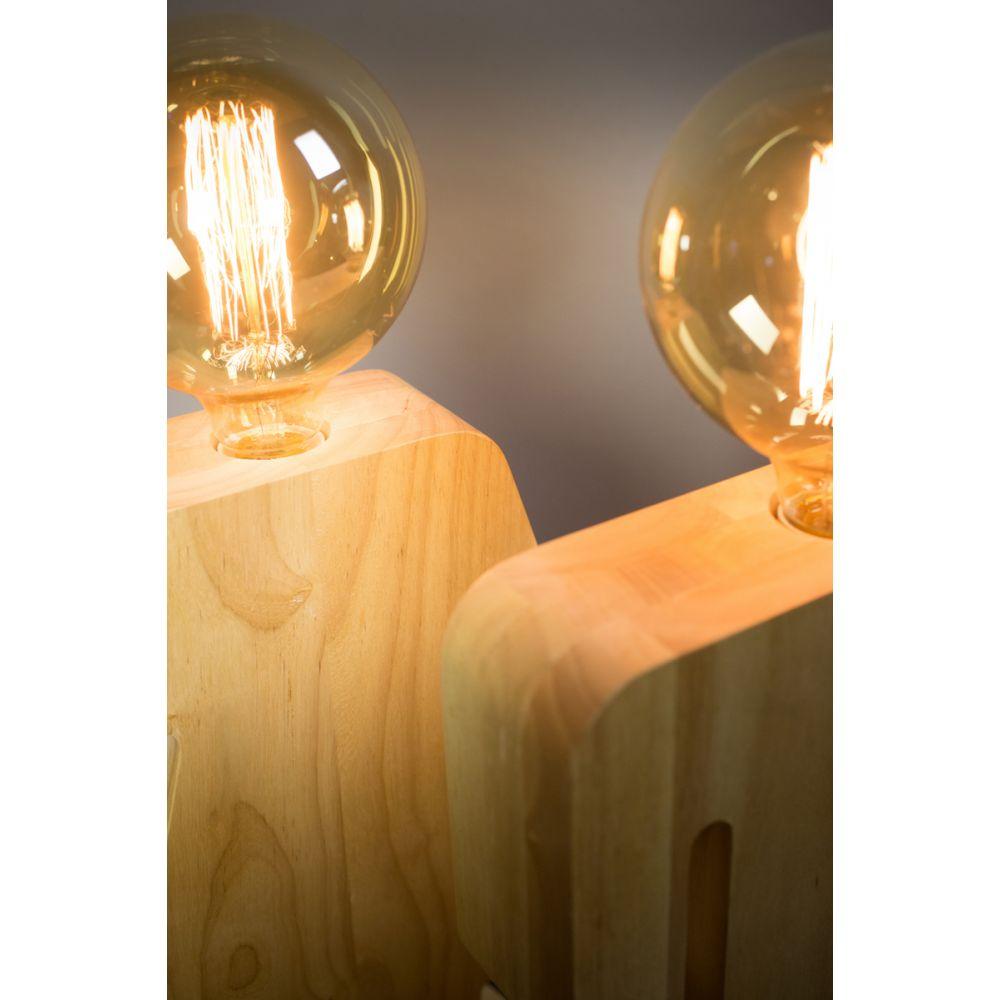 lampe poser en bois eve xl. Black Bedroom Furniture Sets. Home Design Ideas