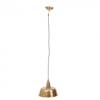Suspension design métal finitions dorées Brass Freak