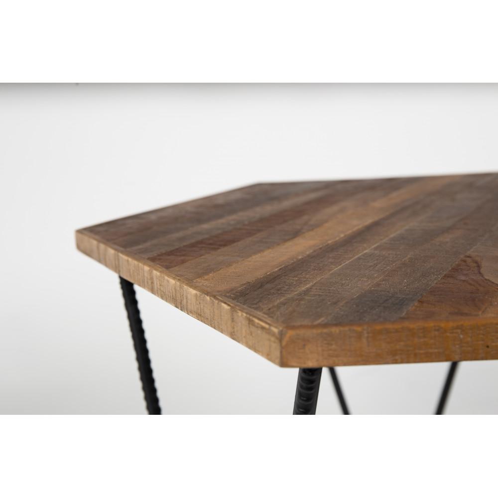 table basse en teck recycle. Black Bedroom Furniture Sets. Home Design Ideas