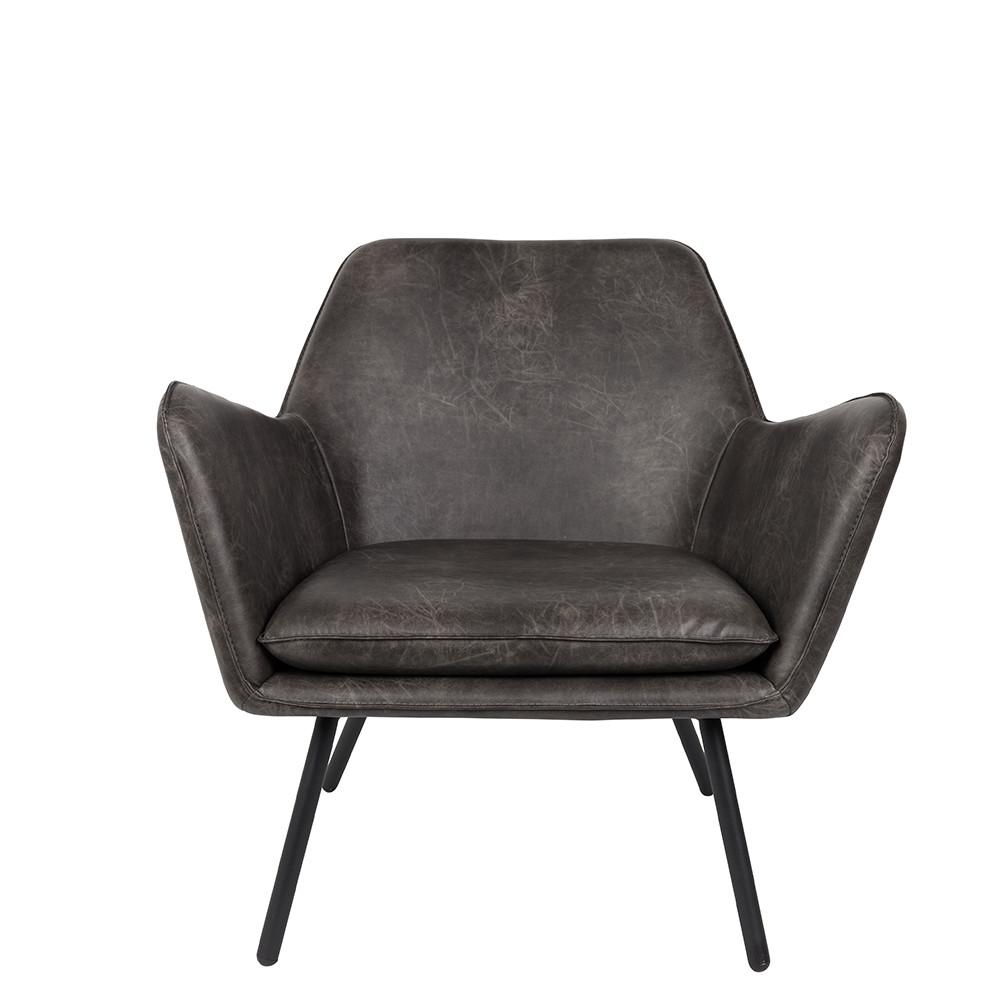 Drawer fauteuil lounge vintage fa on cuir bon - Le bon coin fauteuil vintage ...