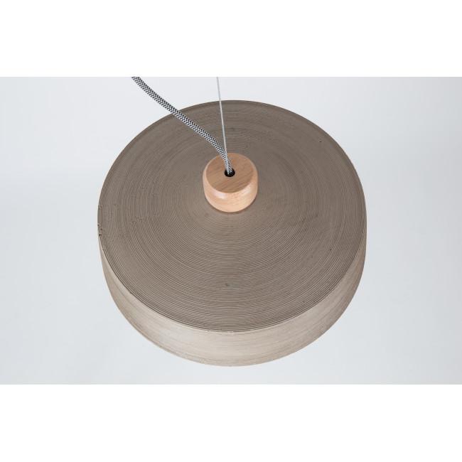 Suspension design en béton et bois Bjork