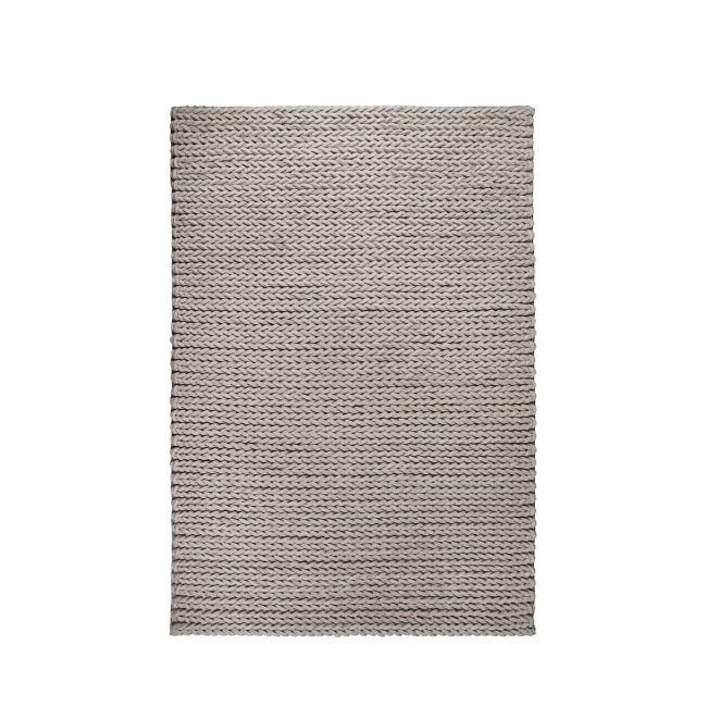 Tapis  de salon en feutre de laine noué main Nienke