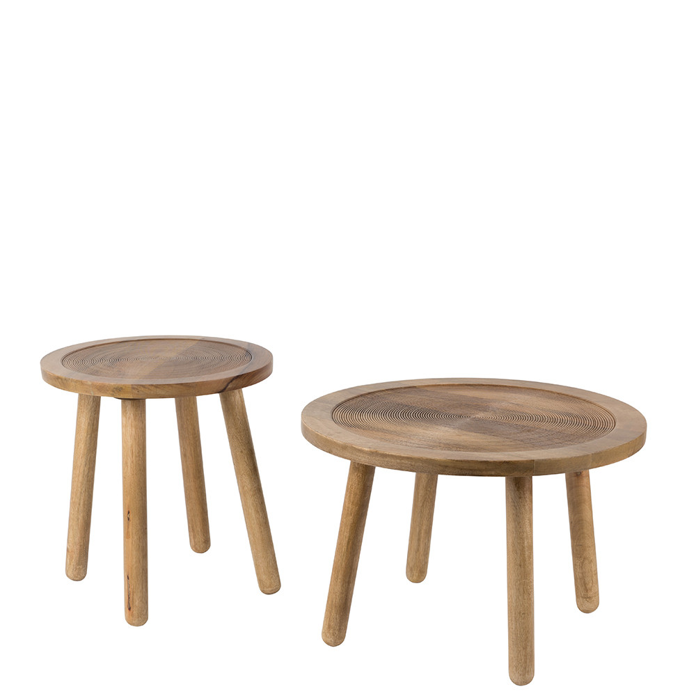 Table d 39 appoint ronde bois 60 dendron zuiver - Table d appoint malm ...
