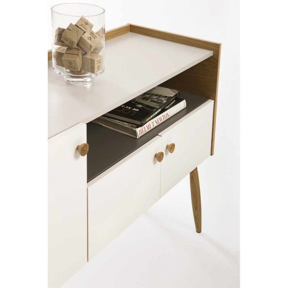 Buffet Bois Design - Buffet design bois 3 portes Farsta by Drawer