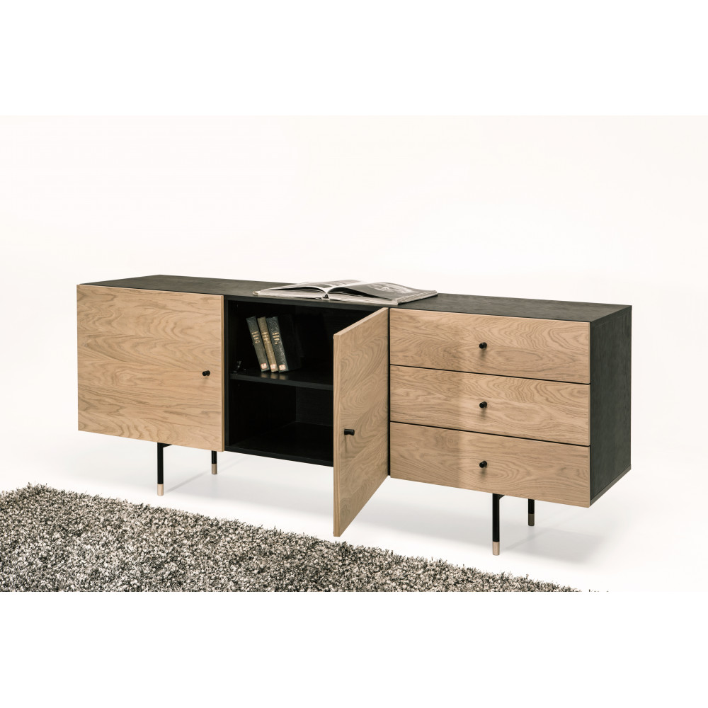 Buffet design bois et métal Jugend by Drawer