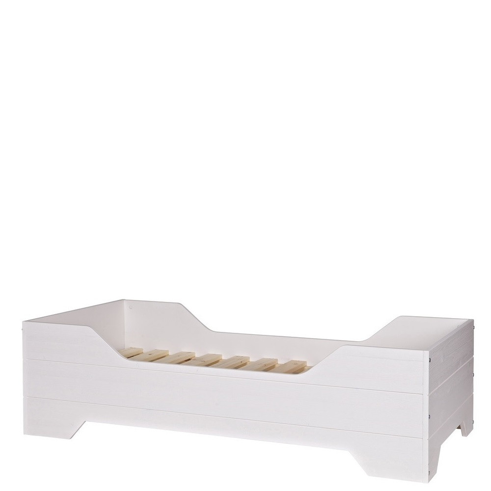 lit enfant pin massif blanc fien by drawer. Black Bedroom Furniture Sets. Home Design Ideas