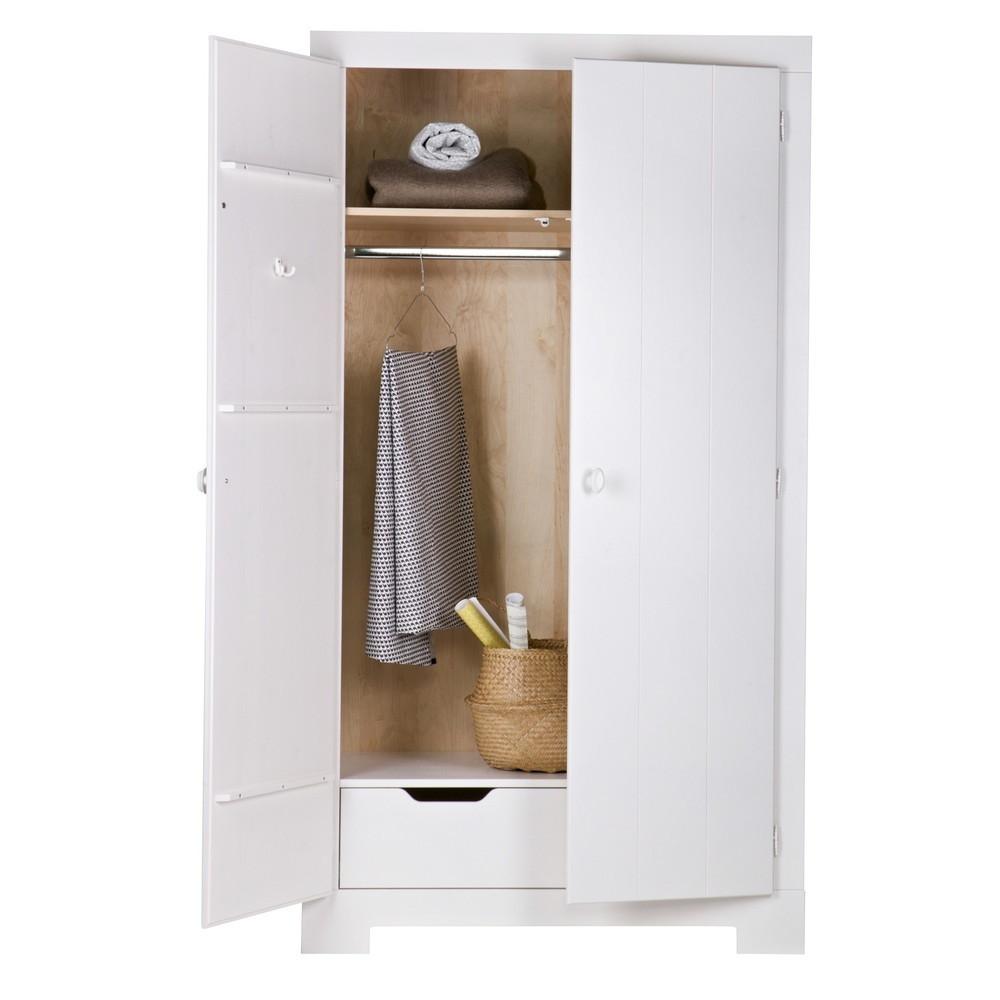 armoire en pin massif nikki by drawer. Black Bedroom Furniture Sets. Home Design Ideas