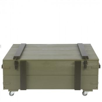 Coffre de rangement en pin massif XL Derk