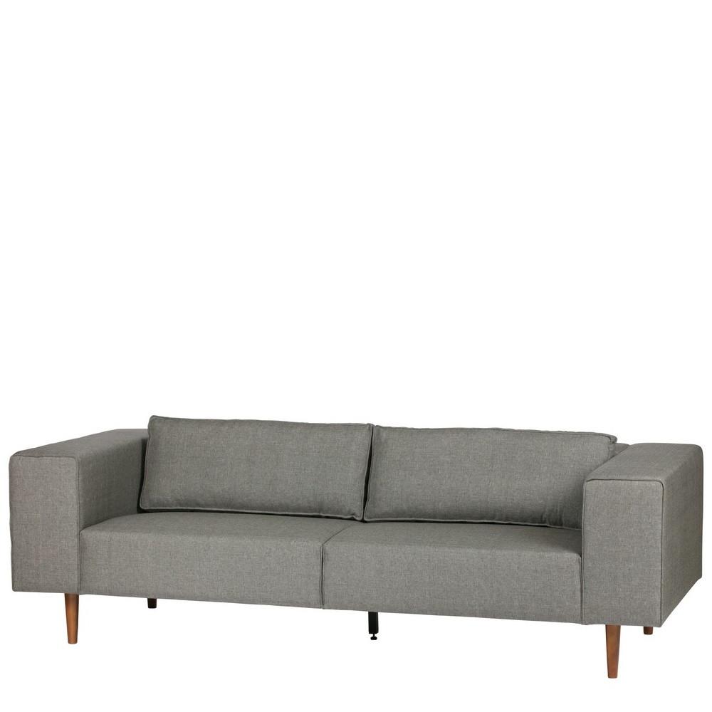 canap 3 places tissu et pieds en bois bjork by drawer. Black Bedroom Furniture Sets. Home Design Ideas
