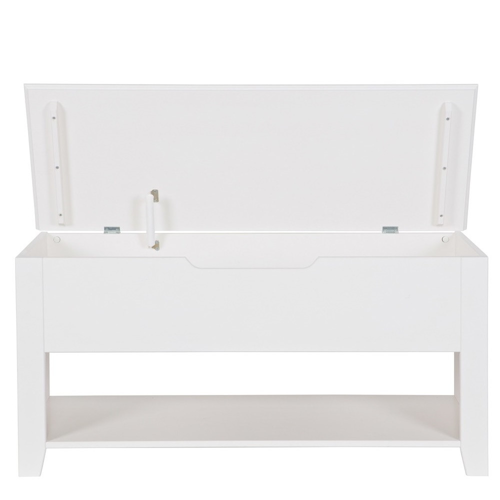 banc design pin massif blanc perpignan by drawer. Black Bedroom Furniture Sets. Home Design Ideas