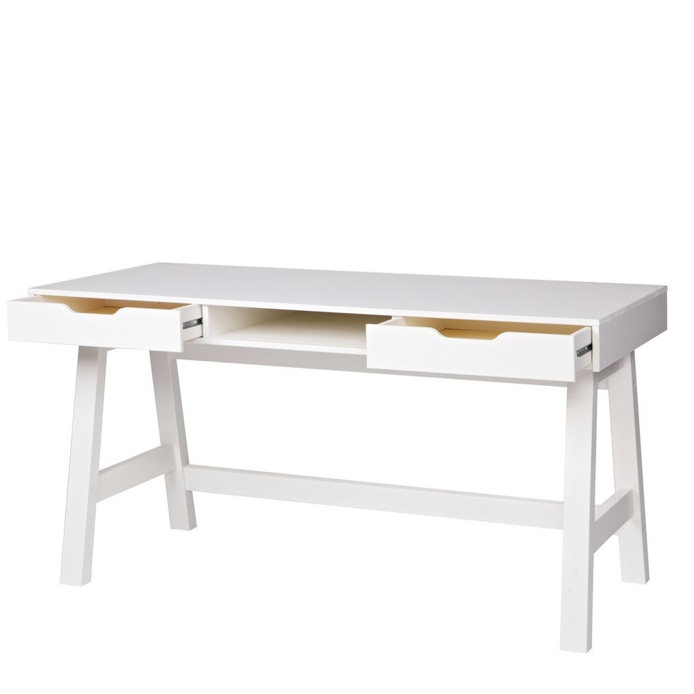 bureau enfant en pin massif nikki by drawer. Black Bedroom Furniture Sets. Home Design Ideas