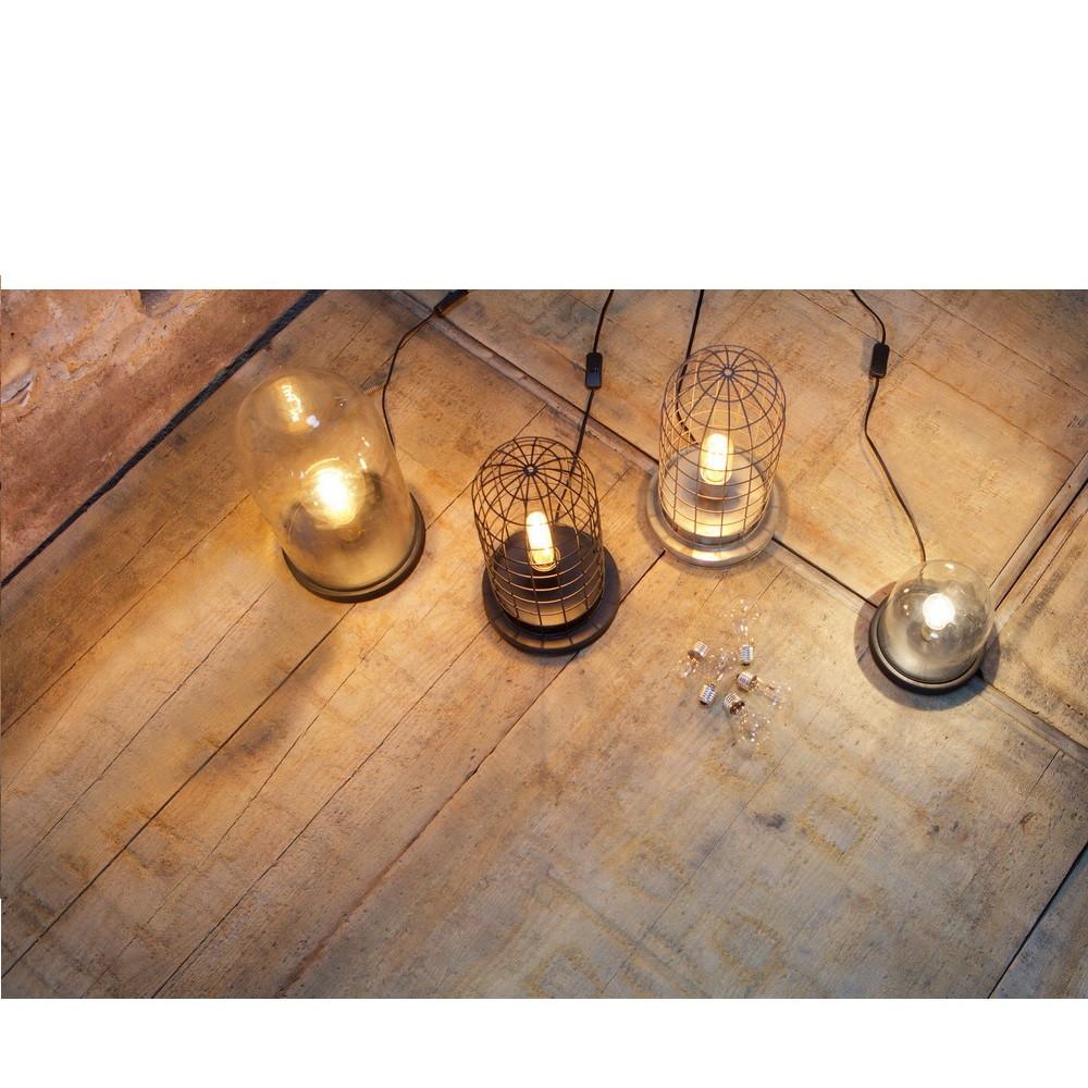 lampe poser industrielle grillage m tallique hive by drawer. Black Bedroom Furniture Sets. Home Design Ideas