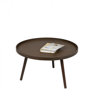 Table d'appoint ronde bois L Mesa