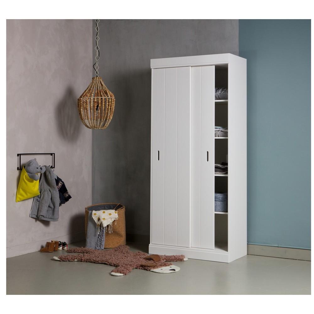 suspension design perles de bois naturel l funale by drawer. Black Bedroom Furniture Sets. Home Design Ideas