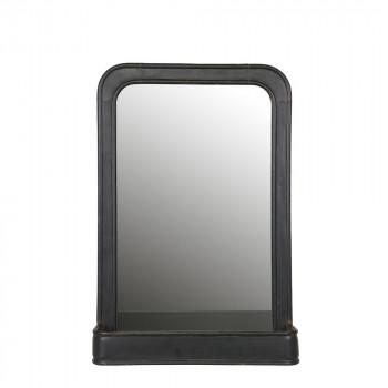 Miroir suspendu métal avec rangement Speachless