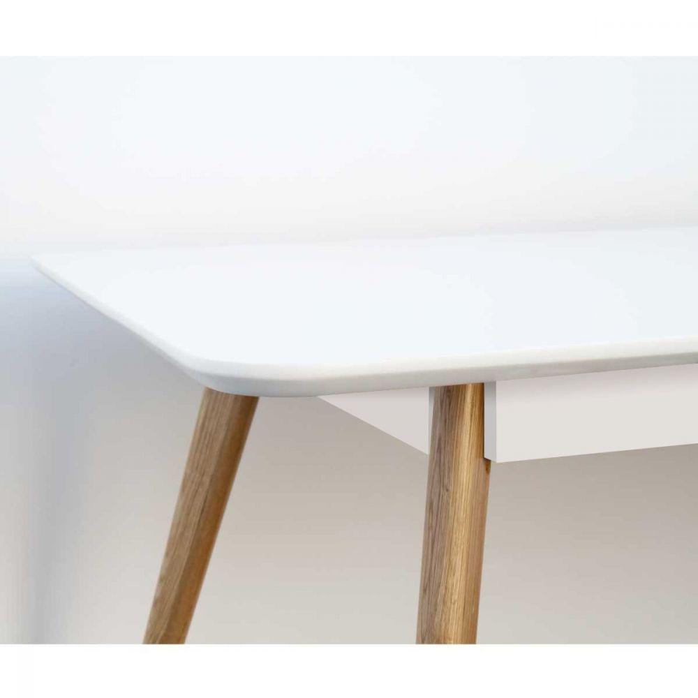 table scandinave skoll table manger en bois drawer. Black Bedroom Furniture Sets. Home Design Ideas