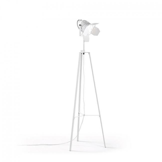 Lampadaire industriel métal style projecteur Amy