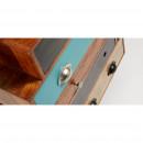 Commode design bois de manguier multicolore Robin
