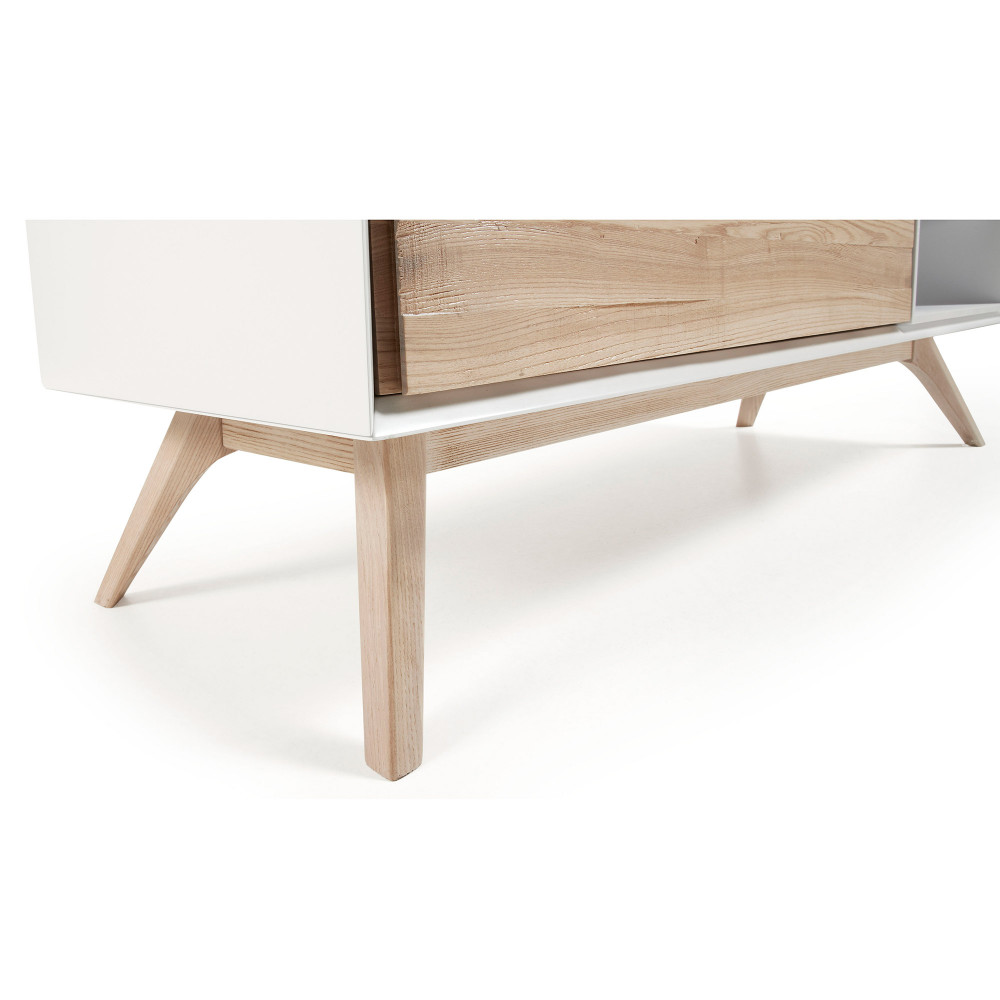 Meuble Tv Frene - Meuble Tv Design Blanc Et Bois De Fr Ne Joshua By Drawer[mjhdah]https://i2.cdscdn.com/pdt2/9/2/2/1/1200×1200/auc3663872002922/rw/meuble-tv-design-scandinave-yleva-frene-150-cm.jpg
