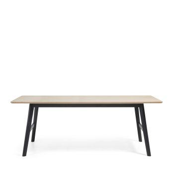 Table à manger bois chêne Ray
