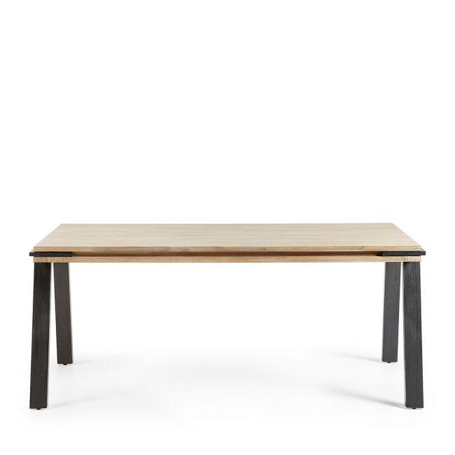 table manger design industriel bois massif et m tal spike by drawer. Black Bedroom Furniture Sets. Home Design Ideas