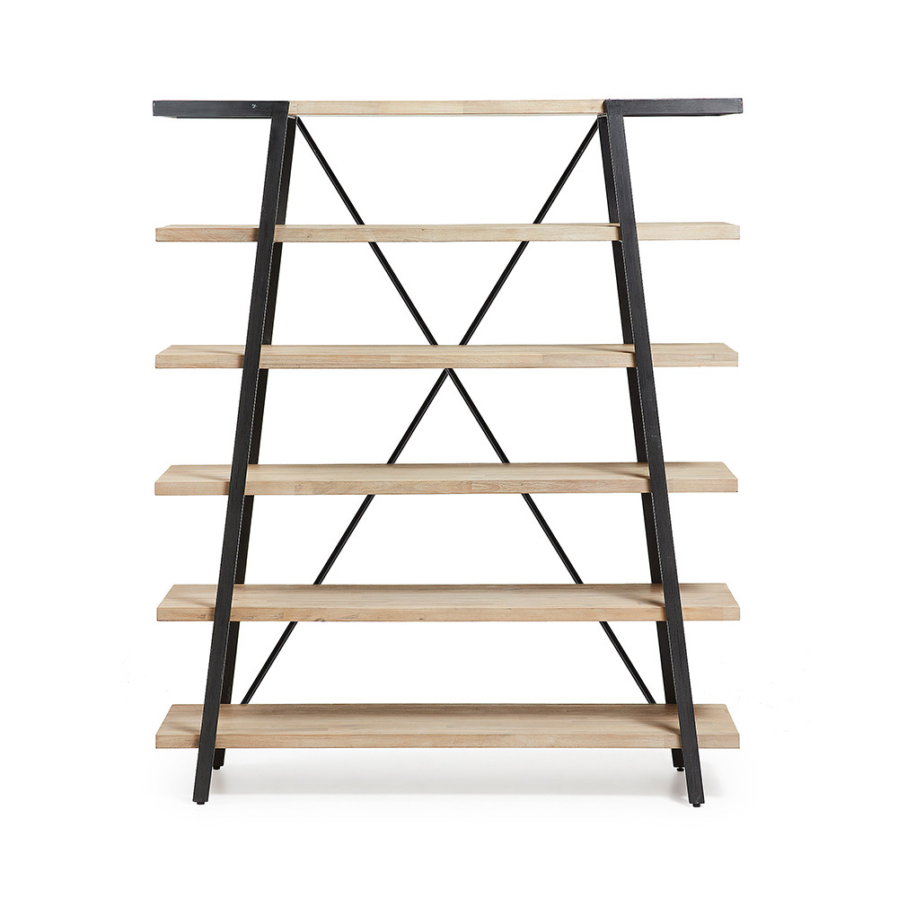 Etag re design bois et m tal 150x180 spike by drawer - Etagere metal design ...
