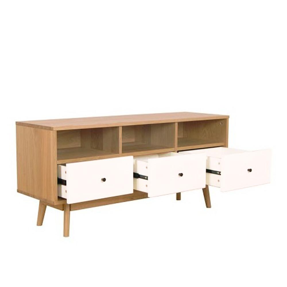 Meuble tv scandinave skoll by drawer for Meuble tiroir architecte