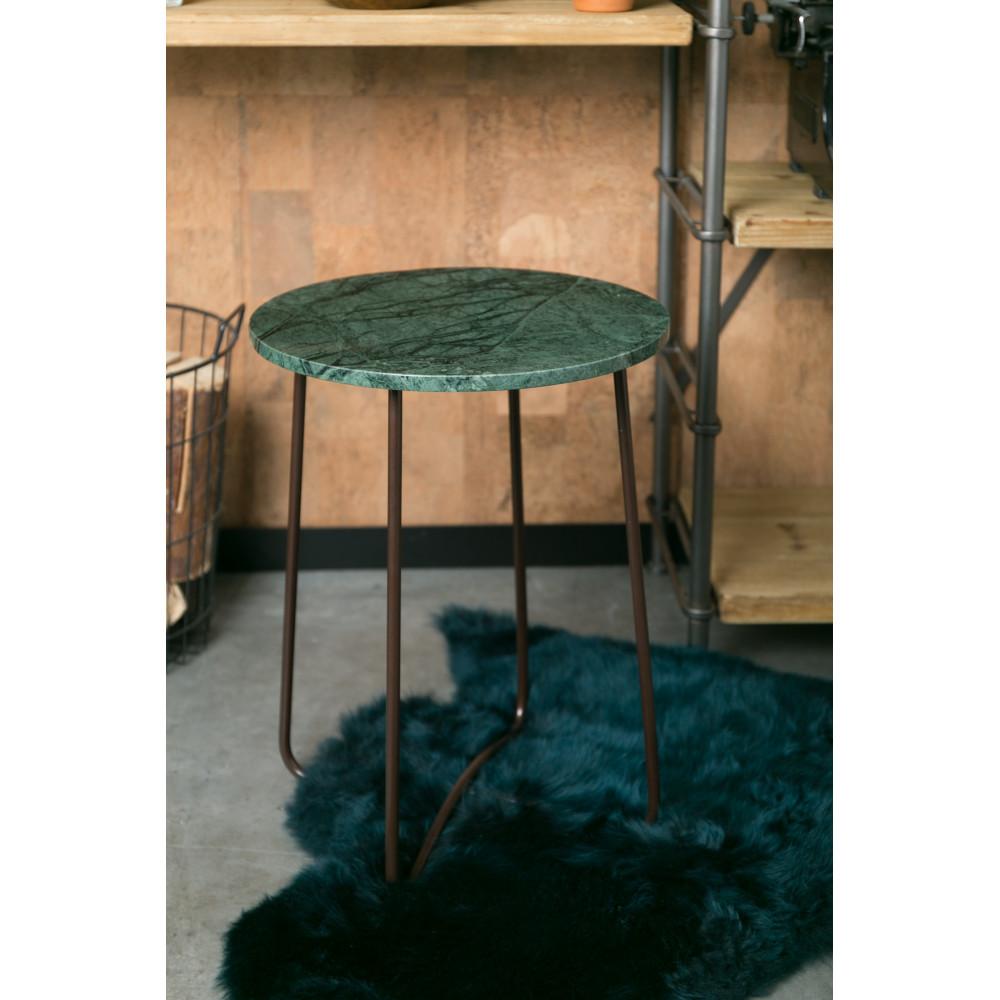 Table d\'appoint en marbre Dutchbone - EMERALD
