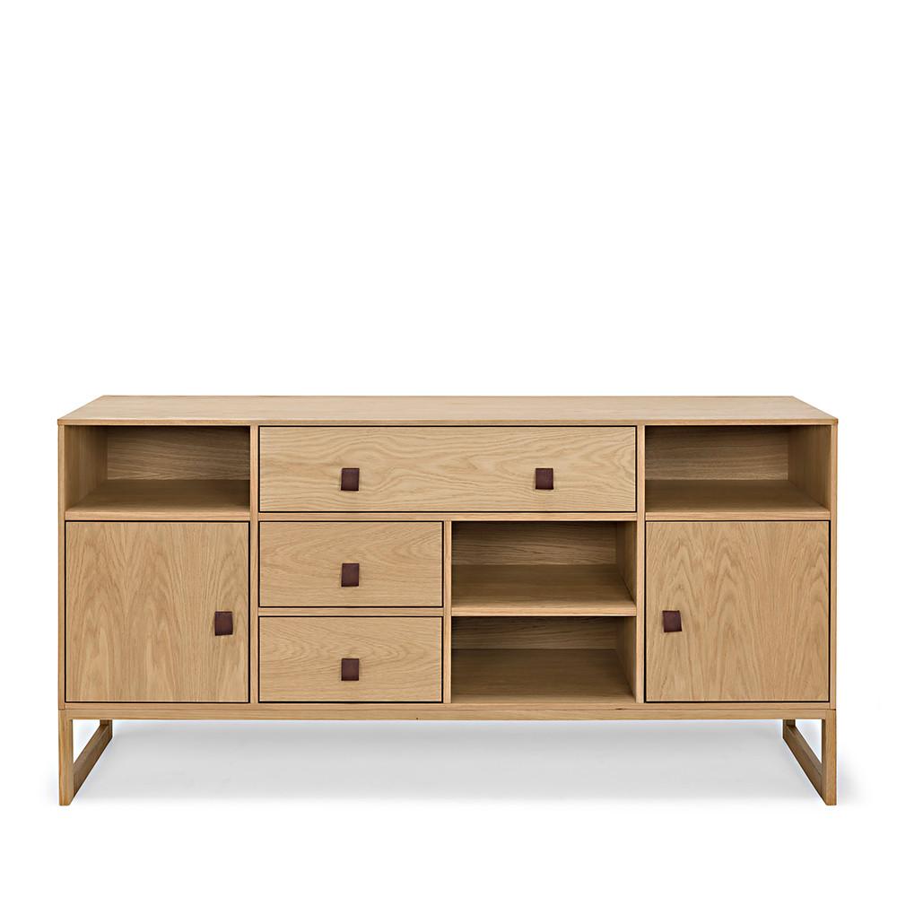 Buffet contemporain bois 3 tiroirs slussen by drawer - Buffet contemporain bois design ...
