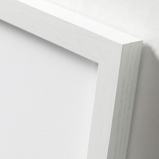 Affiche graphique cadre blanc 43x63 Graphic