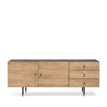 Buffet design bois et métal Jugend