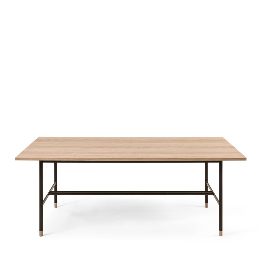 Table A Manger Metal Et Bois D Coration De Maison Contemporaine