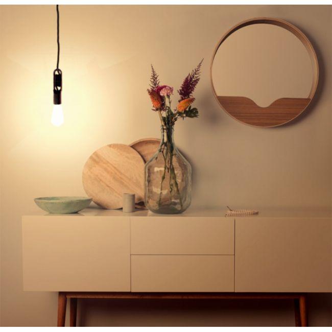 Suspension et ampoule design Wickle