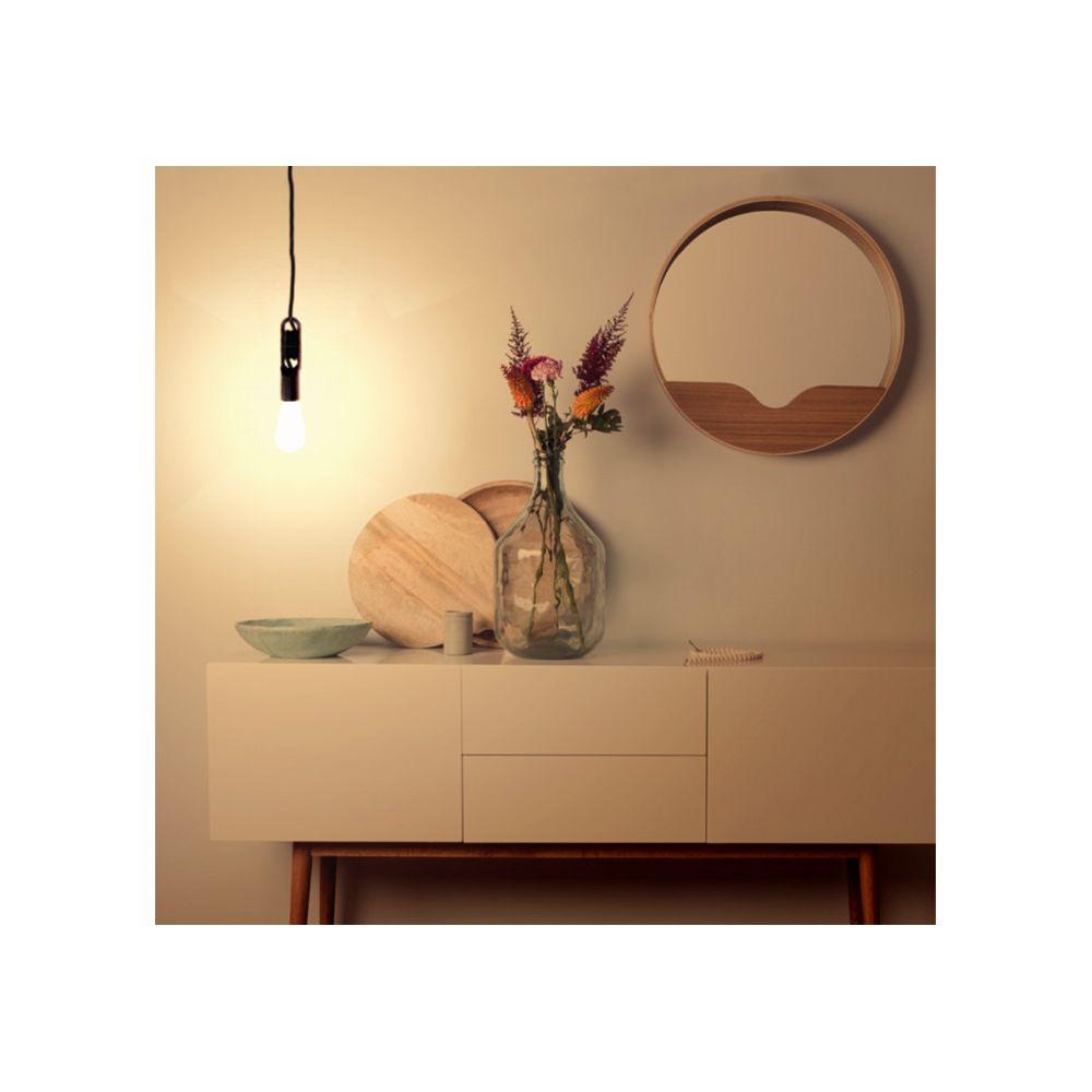 luminaire suspendu style douille wickle. Black Bedroom Furniture Sets. Home Design Ideas