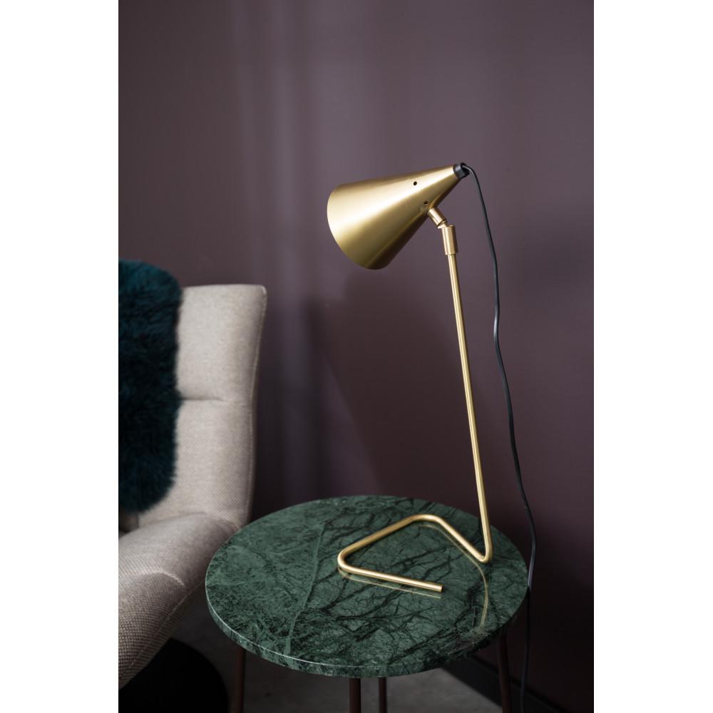 Lampe poser en laiton brasser par for Lampe a poser but