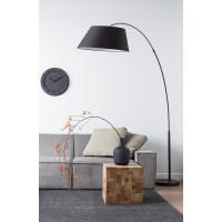 lampadaire arc design pour salon zuiver. Black Bedroom Furniture Sets. Home Design Ideas