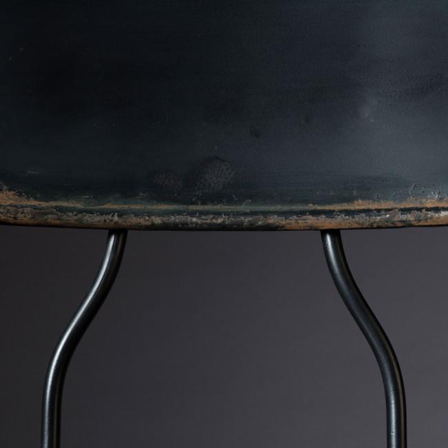 Tabouret de bar en métal peint Ovid Dutchbone