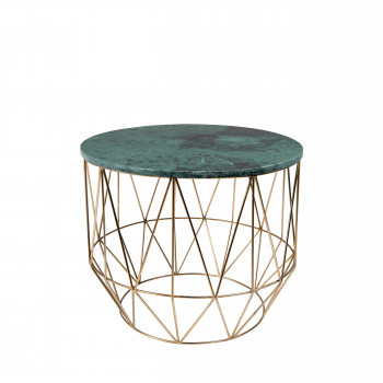 Table d'appoint marbre Boss Dutchbone vert